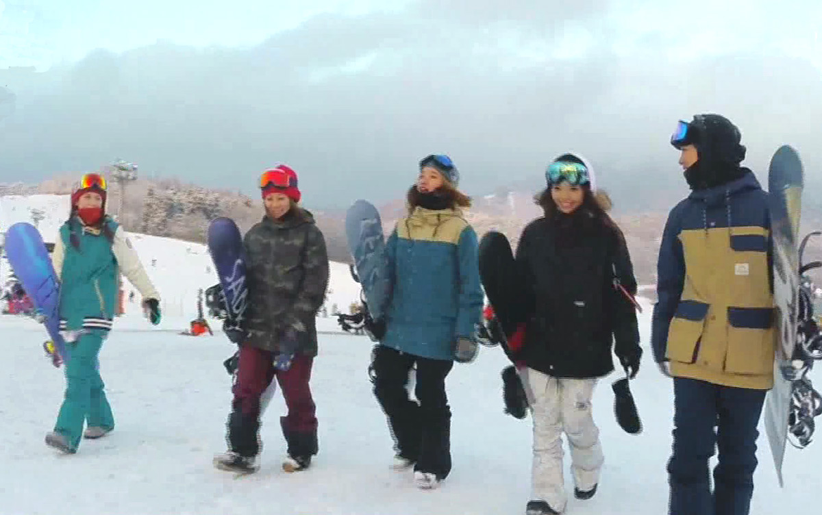 Feel the SNOW ~Girls Snowboard Club~